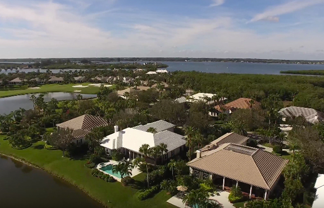 Orchid Island Golf & Beach Club Aerial